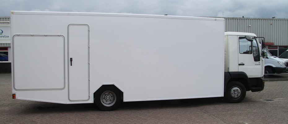 Man Vrachtwagen Camper Casco