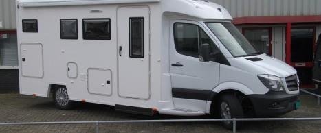 Mercedes Sprinter Rolstoel Aangepast Casco Interieur Camper