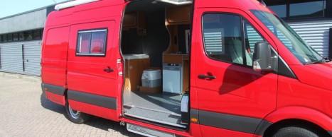 Volkswagen Crafter Buscamper Aangepast