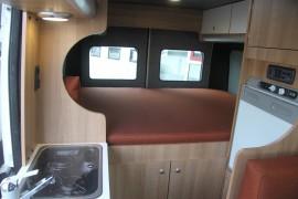 Fiat Ducato MH2 bed 2