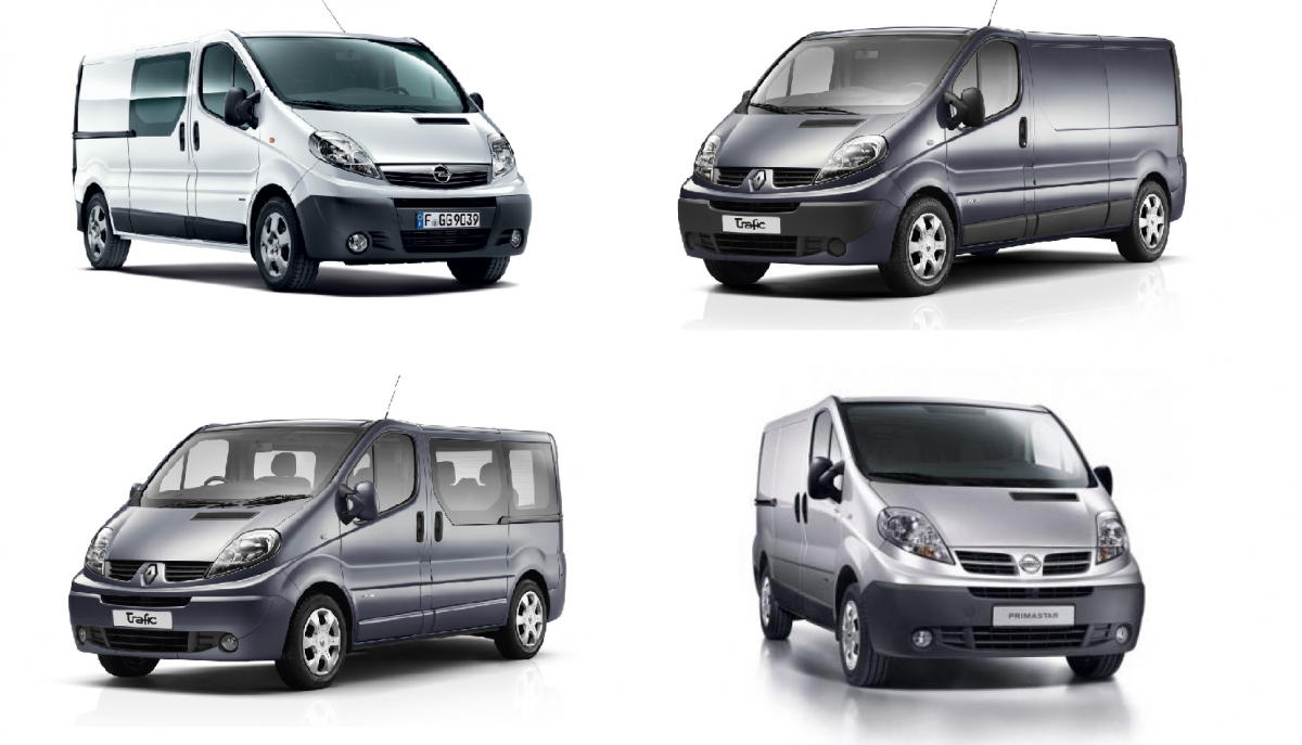 renault trafic opel vivaro nissan primastar id e auto images. Black Bedroom Furniture Sets. Home Design Ideas