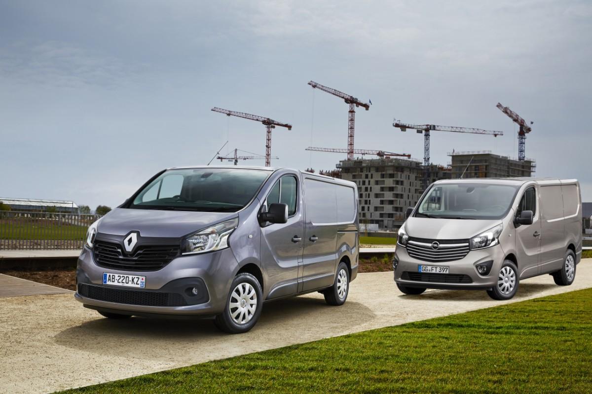 Renault Trafic, Opel Vivaro, Nissan Primastar, Nissan