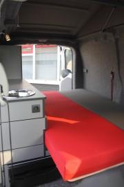 Peugeot Expert Minicamper L1H1 2 0 2013 Bed Vanuit Cabine