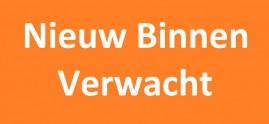 verwacht - nieuw binnen oranje