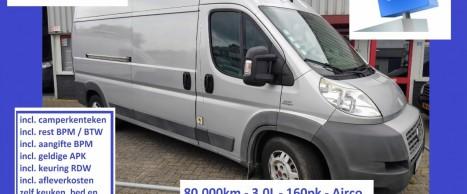 F036 DUC 2009 L3H2 80dkm 3.0 160 AUT zilver CKTK 14995