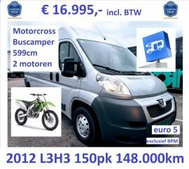 Motorcross buscamper Boxer 2012-148 17995