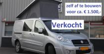 SCUDO minicamper 23995 zelf afbouw verkocht