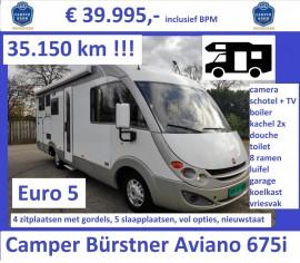 F044 Camper Burstner Aviano 675i 2008 2.3-130-35dkm 39995